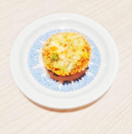 Jajeczna babeczka warzywna