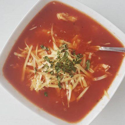 Zimowa zupa pomidorowa