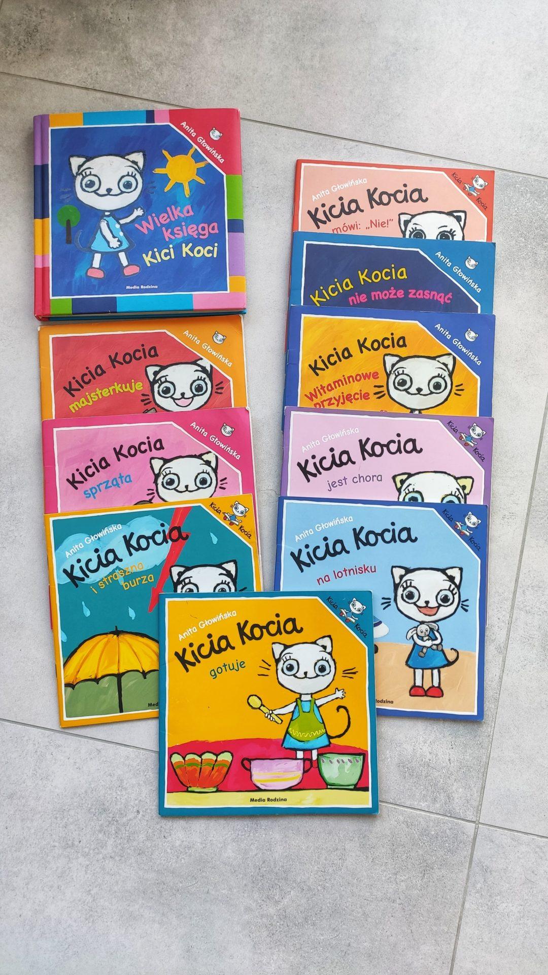 Książeczki Kica Kocia